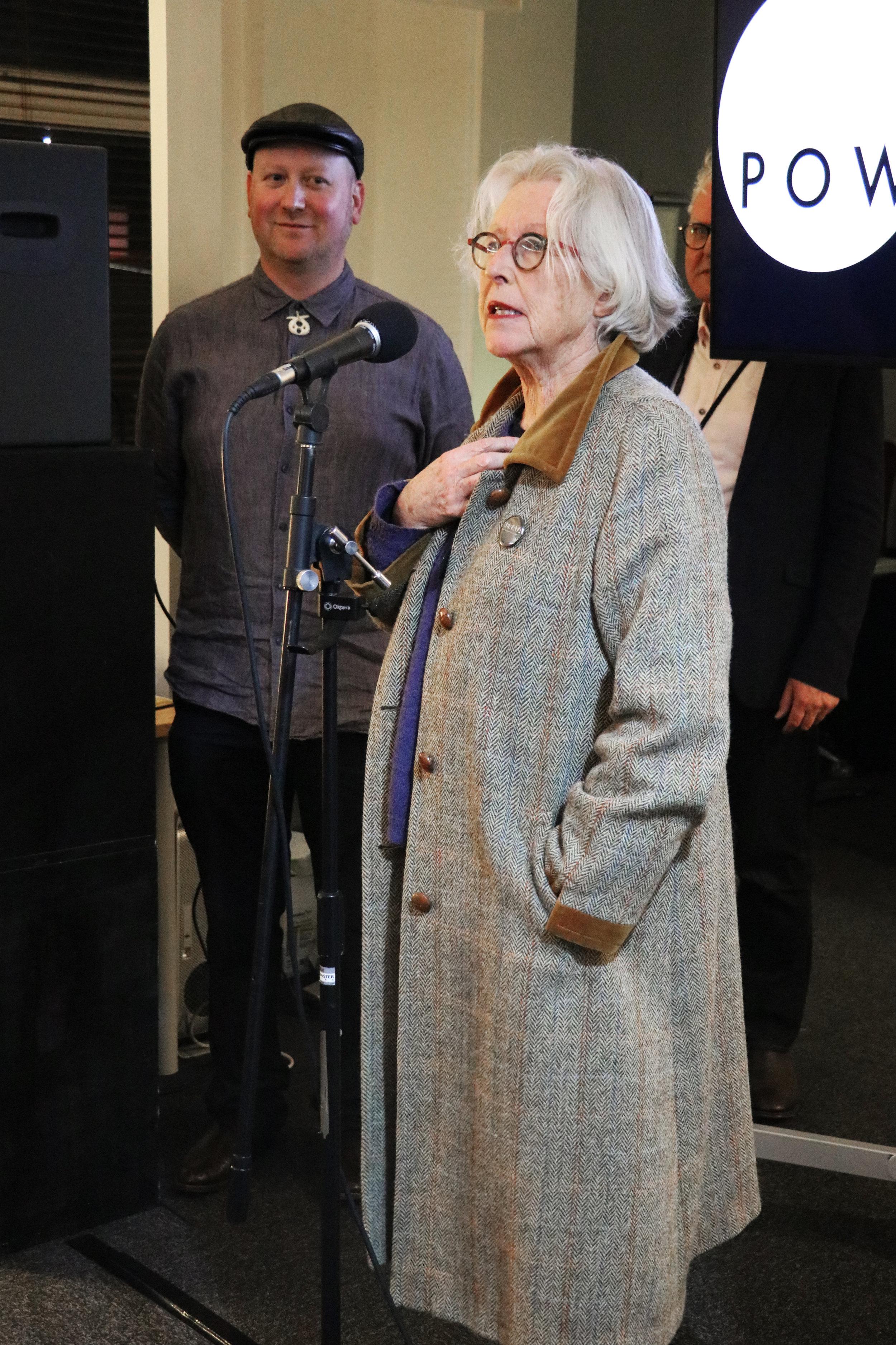 Dame Gaylene Preston officially opens POW Studios' new facilities