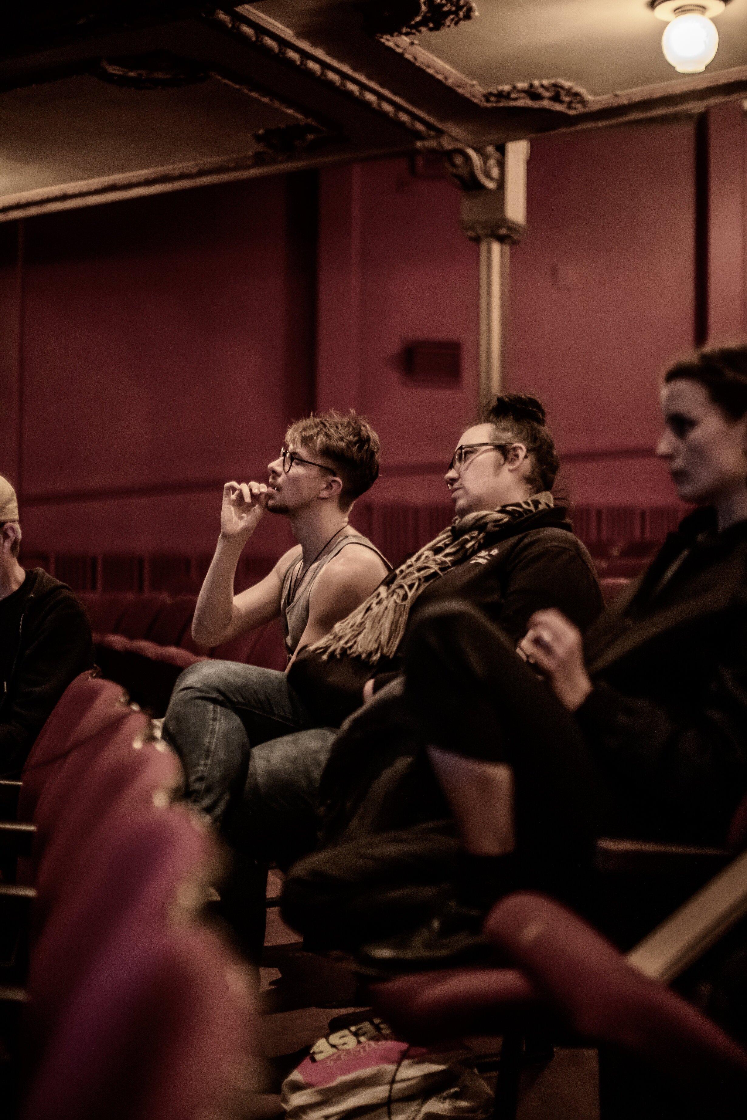 Loughlan Pryor & Marie Silberstein at the Opera House. Photograph: Tim Hamilton