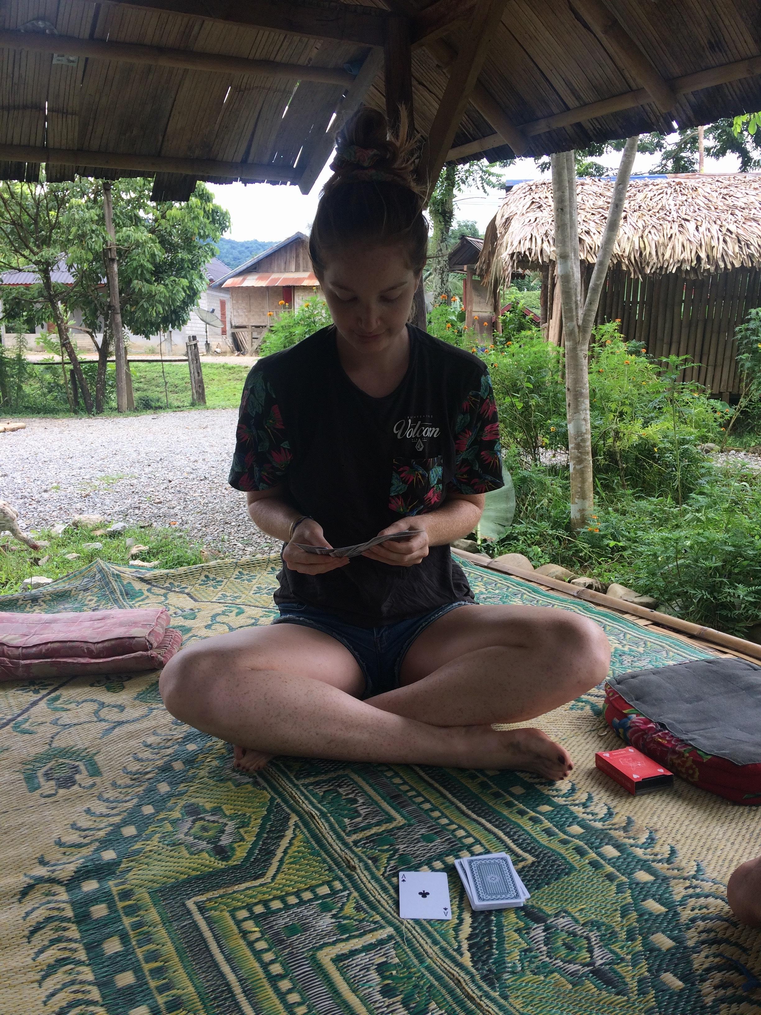 Card games in Laos