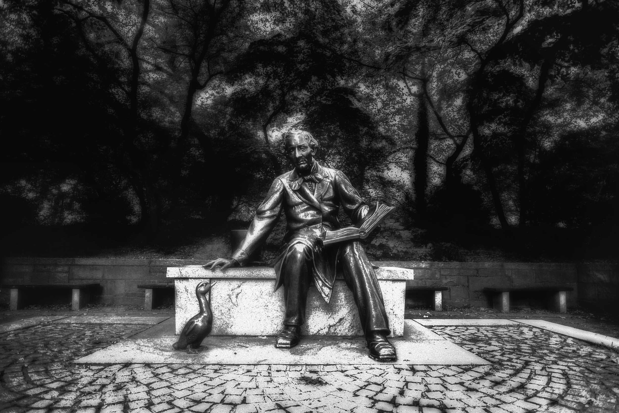 Hans Christian Andersen, Central Park, NYC