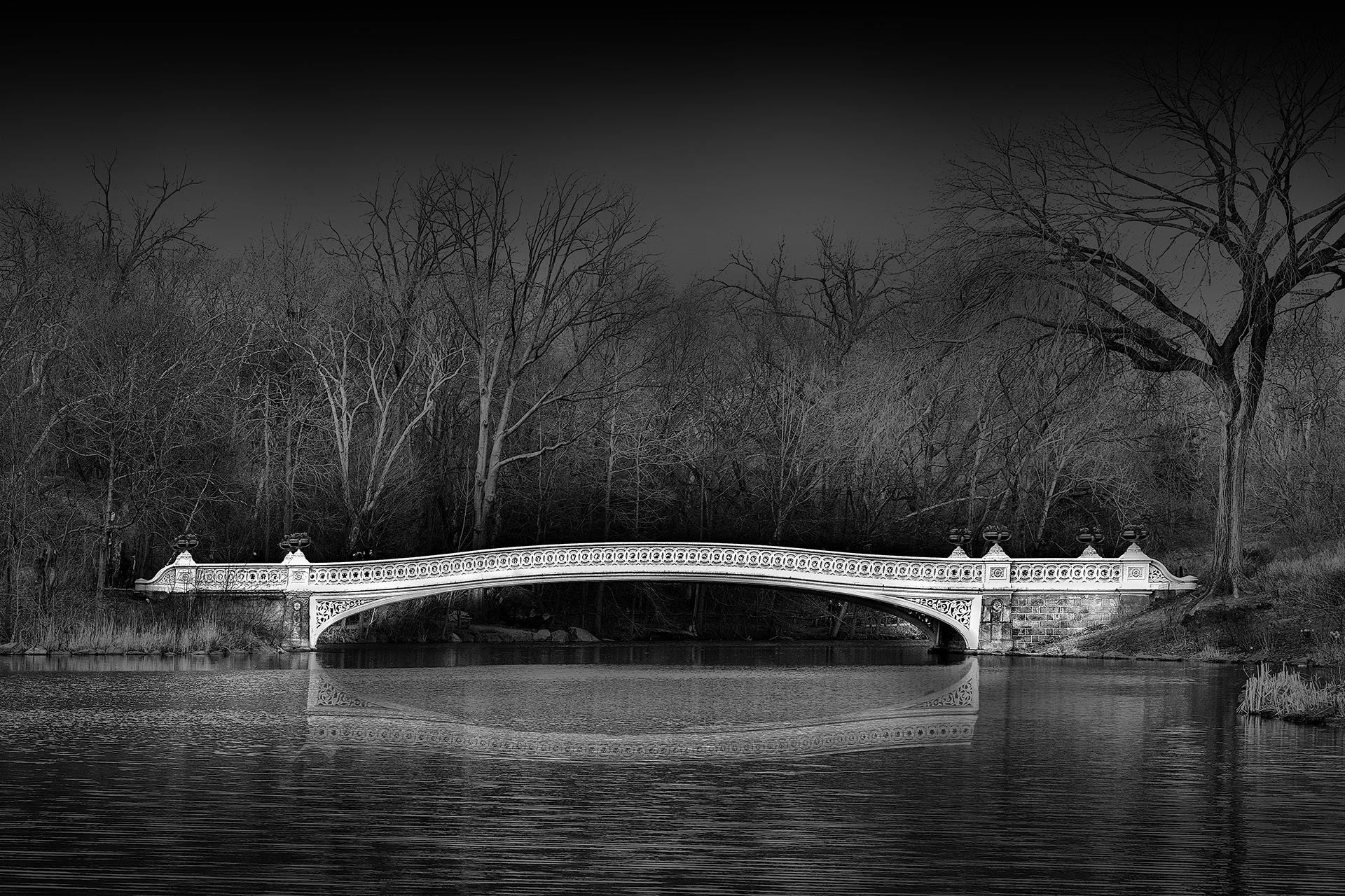 The Bow Bridge , Central Park, NYC