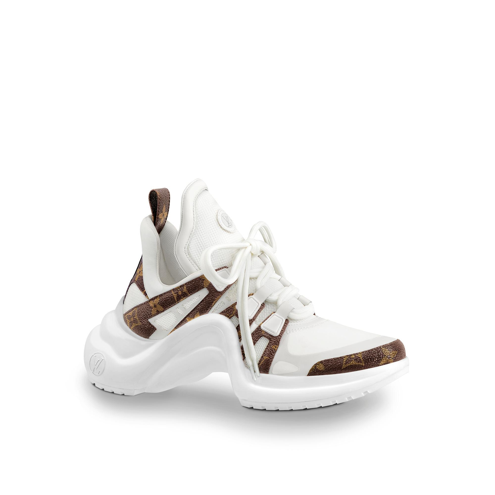 LV Archlight Sneaker in White -