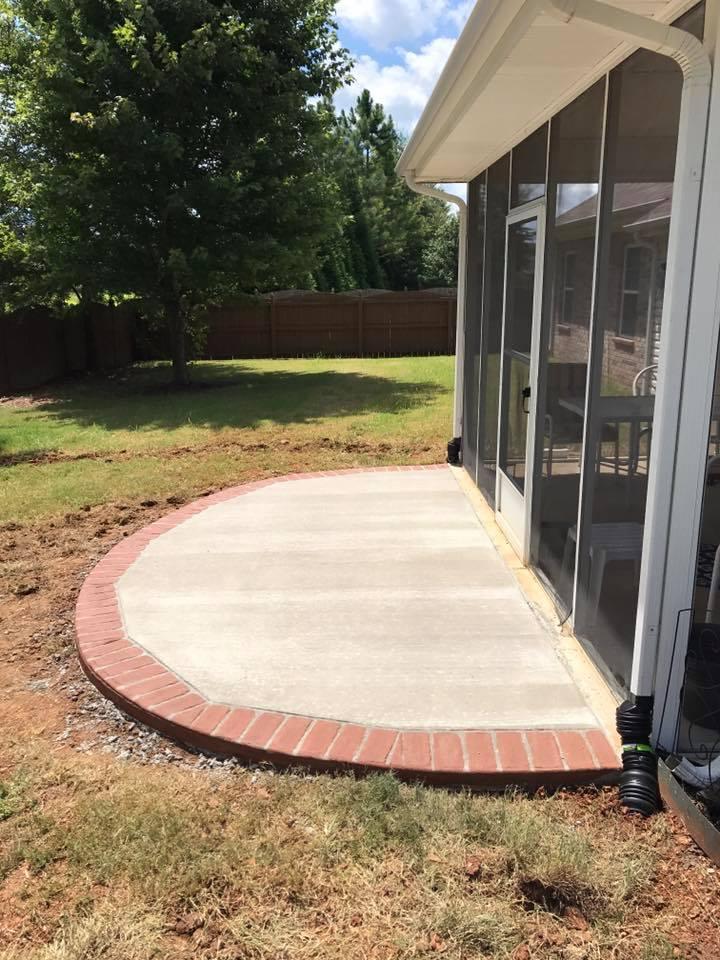Decorative Concrete Slab