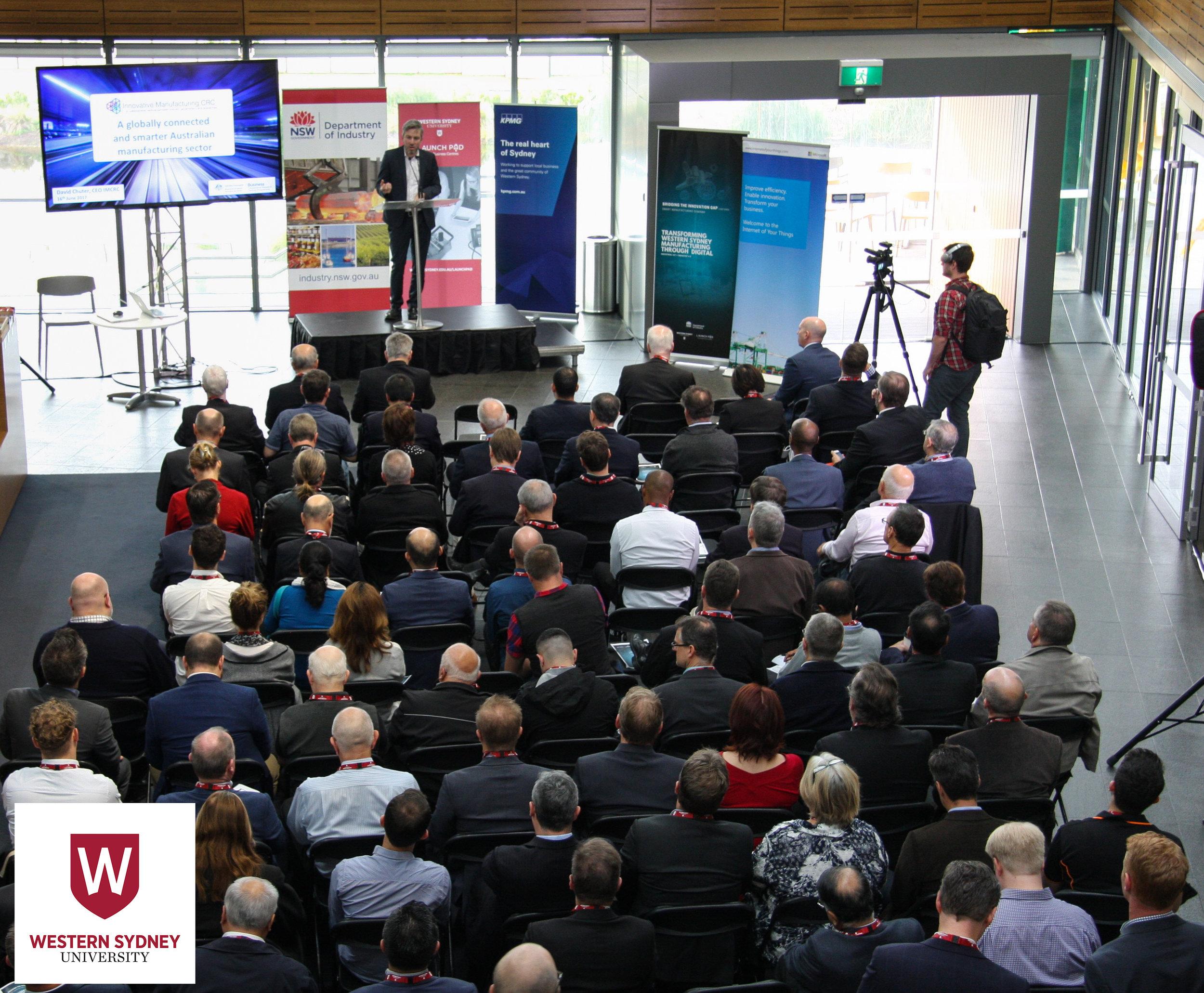 Advanced Manufacturing event, June 2017