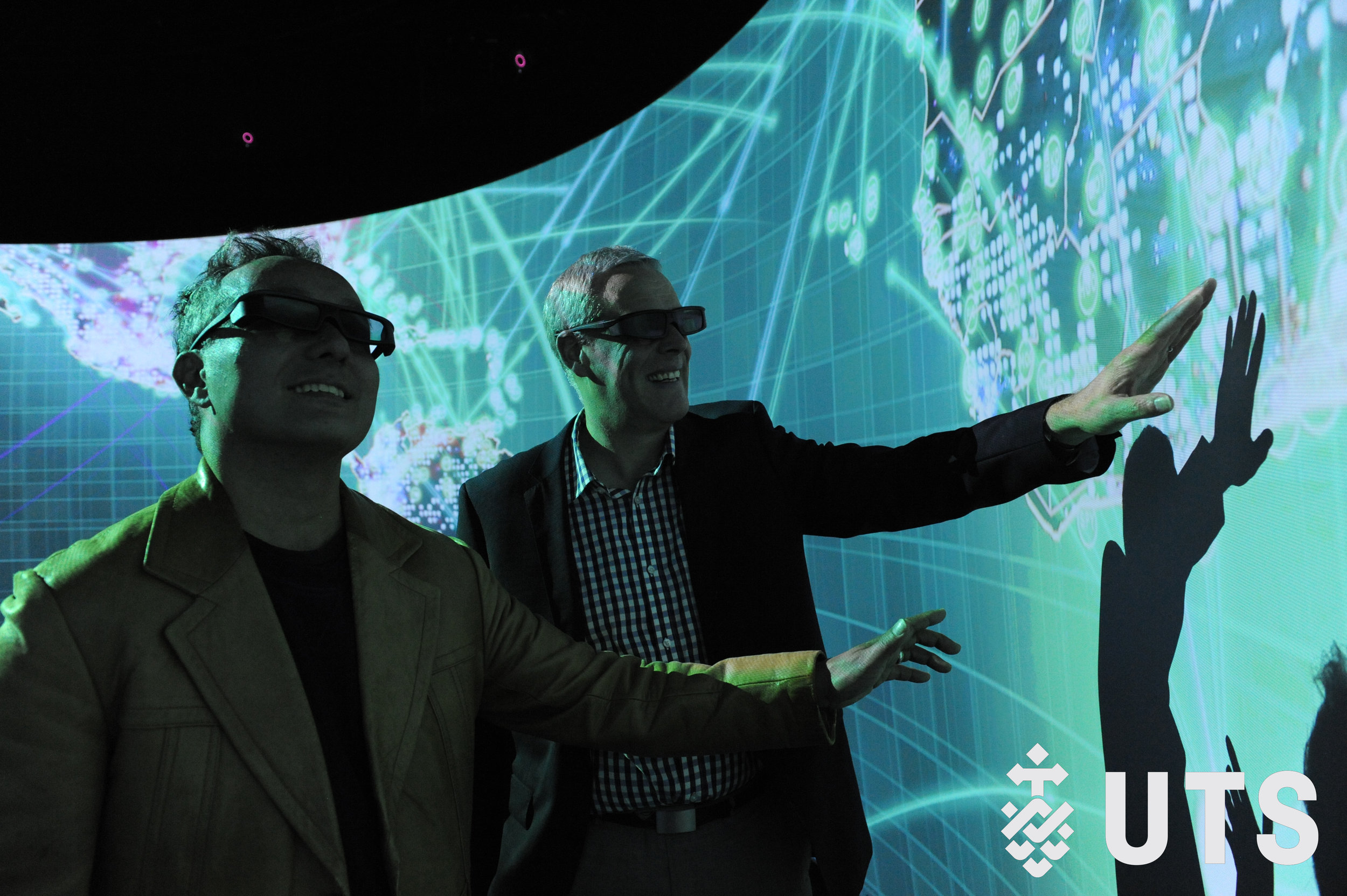 The UTS Data Arena is a powerful immersive facility that can help researchers, business and government simplify complex information.