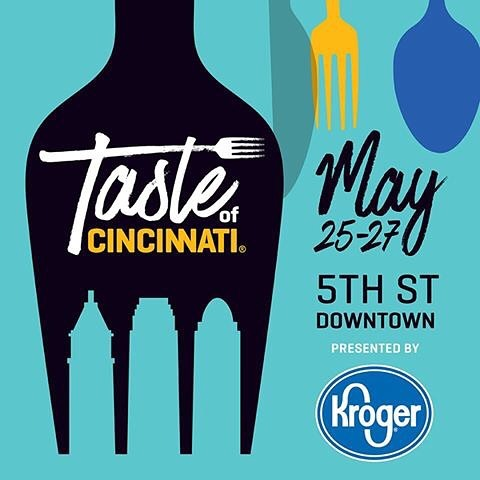 We're getting ready for @tasteofcincinnati, a three-day culinary extravaganza in @downtowncincy this weekend! 📍Sat-Mon | 5/25-5/27 | Fifth St. between Main St. & Sentinel St.