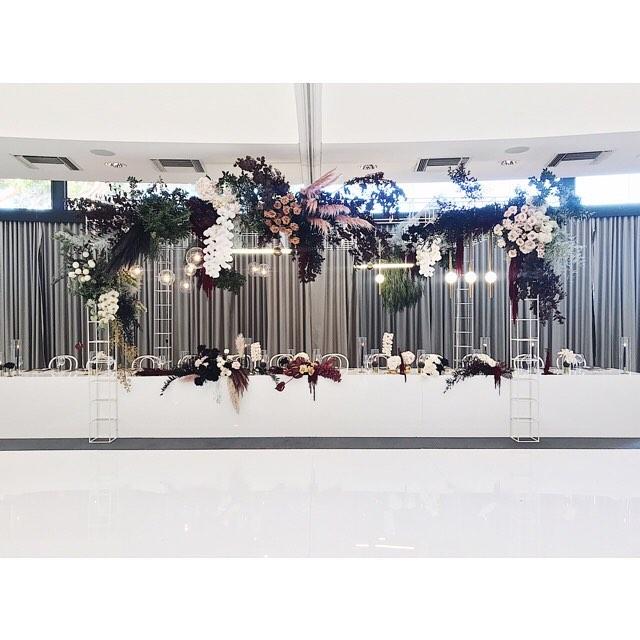 Styling @butcherbakerstylist  Florals @naturalartflowers  Lighting @festoonlightingperth  Structure @hiresociety  Chairs @beautifulbydesigneventhire  Venue @fraserseventsweddings