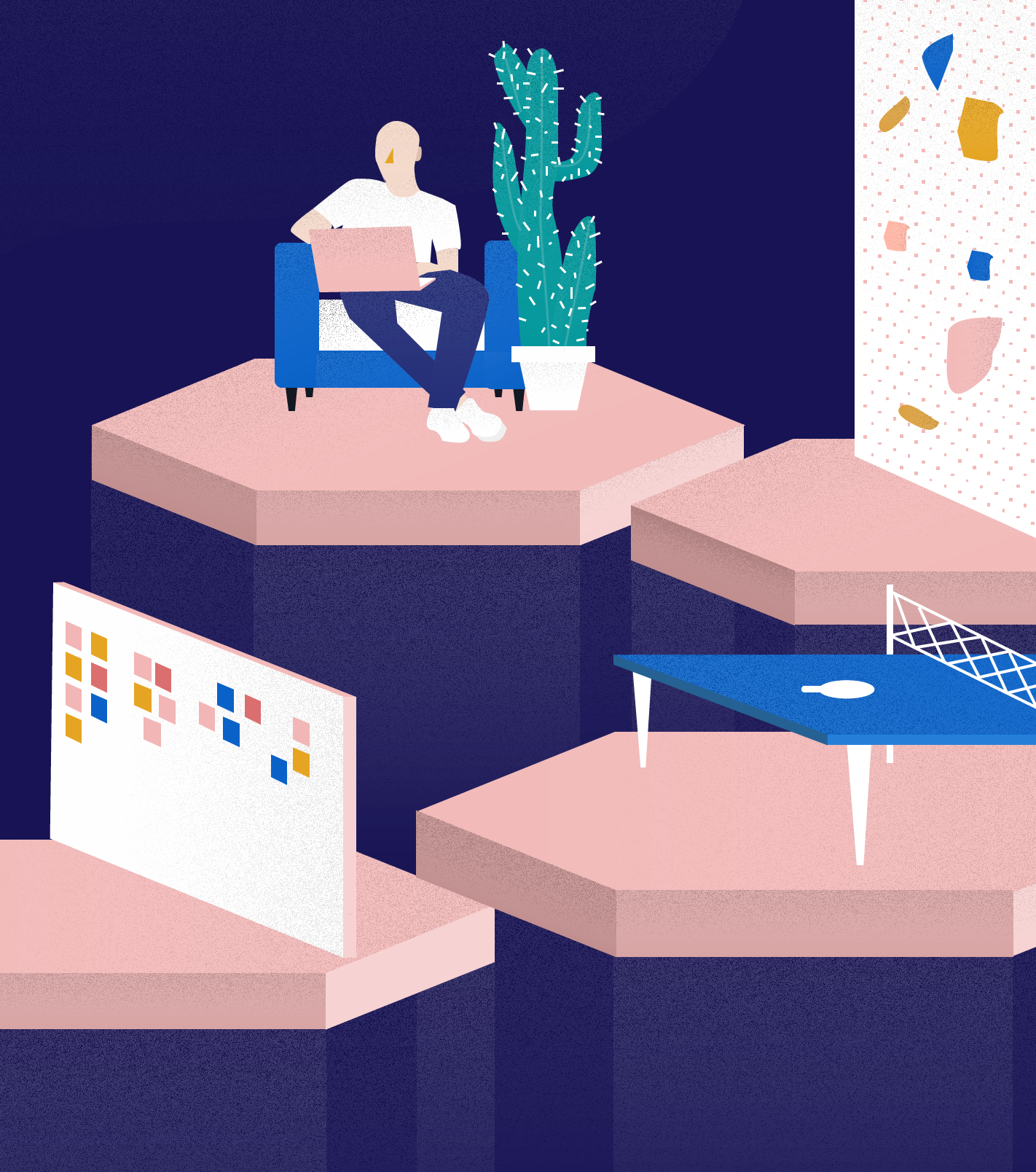 illustration for managed by q