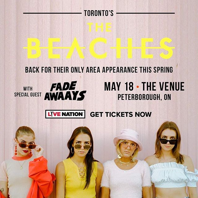 ✨Thank you so much to everyone who came out to see us at the @horseshoetavern for @canadianmusicweek last night, hope you had as good of a time as we did! 😊 Our next show is May 18th with @thebeachesband in Peterborough at @venueptbo! ✨ Adv tix on sale at @livenation 👊