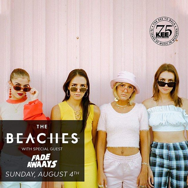 "Can't believe our next show is at the mf @thekeetobala with @thebeachesband in exactly 3 weeks! We're so excited to hit cottage country with these gals, especially since we got some new tunes to show off. 😉 Tickets are selling out fast, so make sure to grab 'em from @livenation or www.thebeachesband.com while ya can! P.s. Our new single ""As They Do"" is out now, go stream it! - - - - #fadeawaays #fadeawaaysband #thebeachesband #indierock #garagerock #alternativerock #rockmusic #rockradio #livemusic #keetobala #newmusic #muskoka #muskokalife #torontomusicscene"