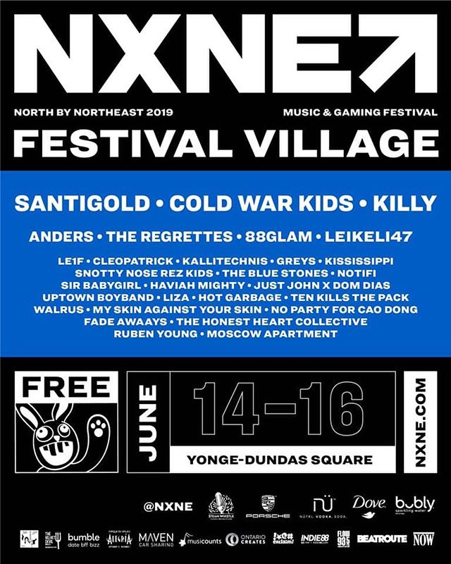 JUST ANNOUNCED: We're gonna be playing Yonge and Dundas Square on June 15th for @NXNE! 🤩 We are so excited to be a part of this incredible lineup of artists. 3 Days of free music, just check out that lineup! Set time TBA. - - - - - #fadeawaays #fadeawaaysband #fadeawaaystour #nxne #yongeanddundassquare #festival #music #musicfestival #rocknroll #garagerock #indierock #torontomusicscene #torontoartists #livemusic #indieartist