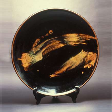 Charger in Black and Gold - American Museum of Art