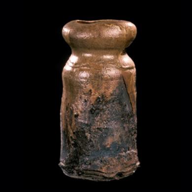 wood-fired vase form