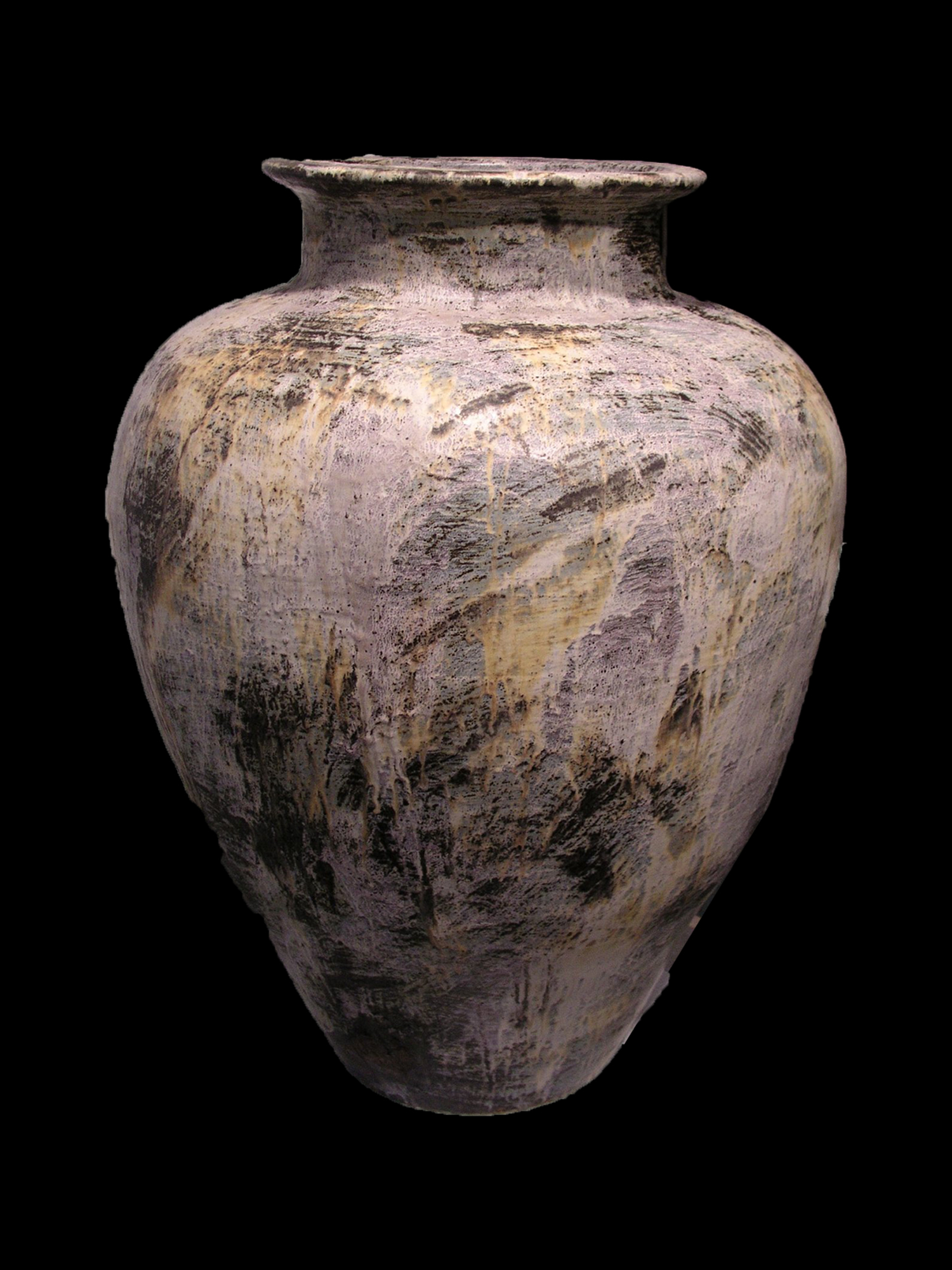 colossal jar - painterly collection - fischmann nevis