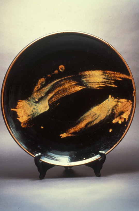 Charger with Gold Strokes - National Museum of American Art, Washington, DC