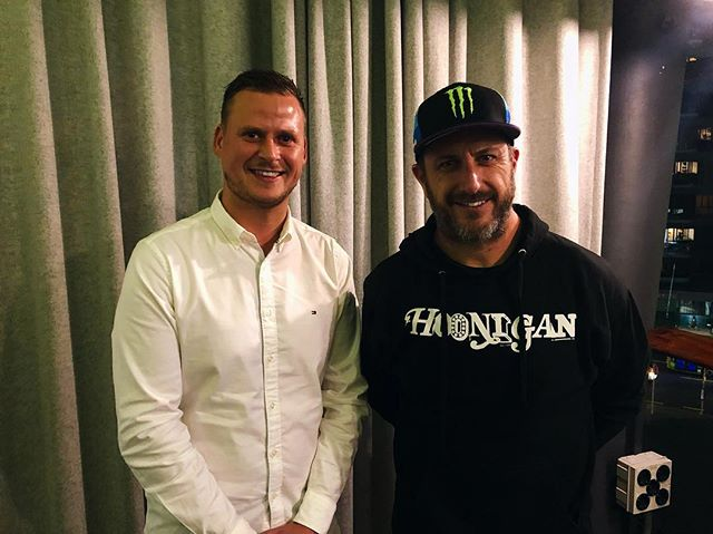 Such an honour meeting & having dinner with @kblock43 tonight, someone I've always looked up to who's achieved things I'd dream to do one day 🤙🏼