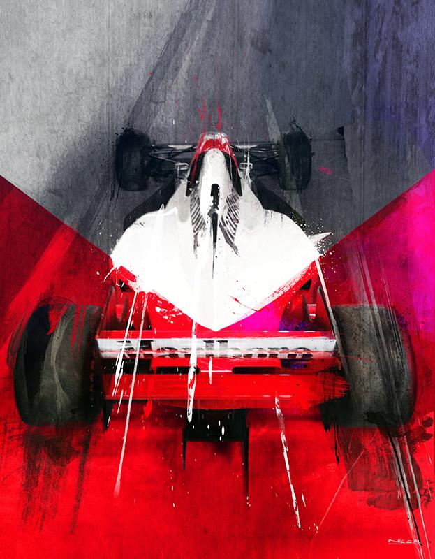 McLaren Formula 1 (14 x 11)