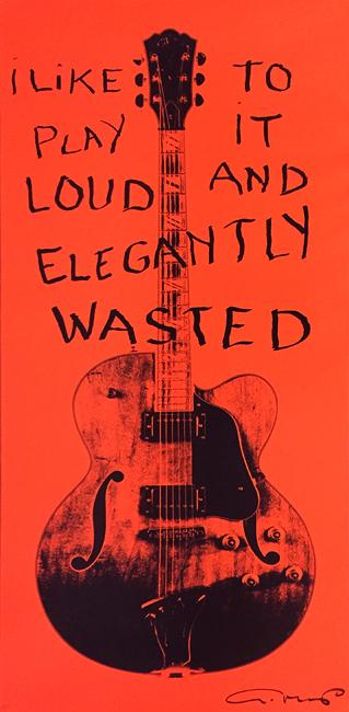 Elegantly Wasted (51 1/2 x 23 1/2)