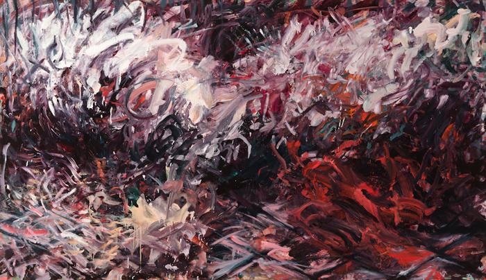 Tagwagi Ishkote - Fall Fire (48 x 83)
