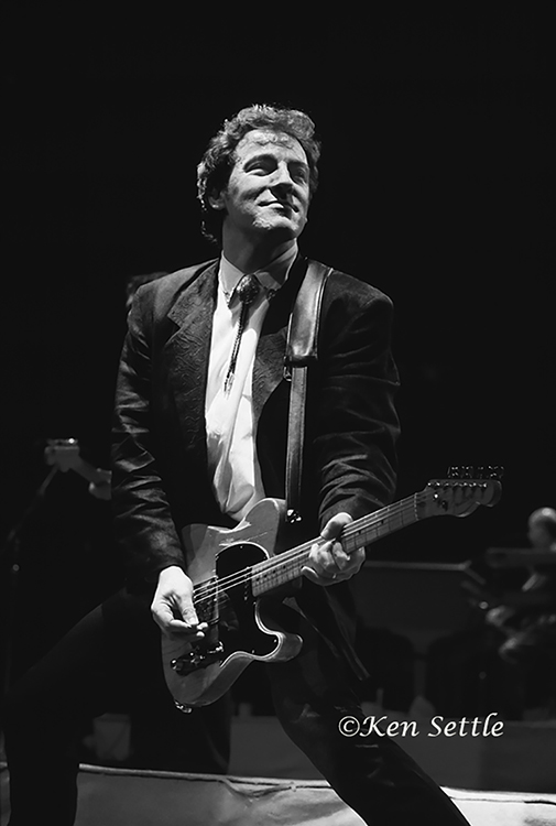 Ken Settle  Bruce Springsteen JLA 1988  Silver gelatin limited edition photographic print on paper  Email us for all inquiries: gerard@robertkiddgallery.com