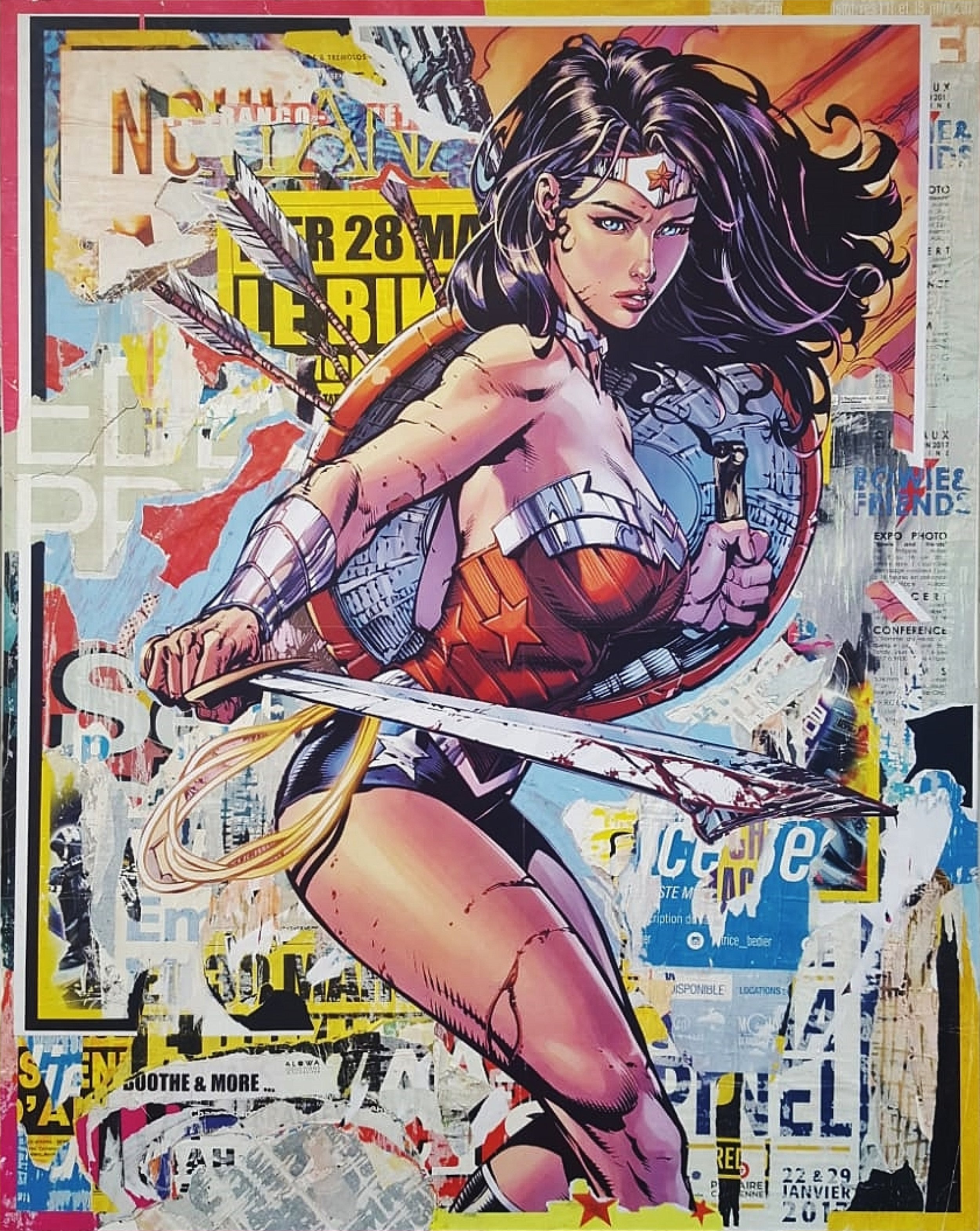 Wonder Woman (59 x 47)