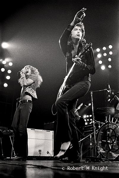 Robert Plant & Jimmy Page Live 1972