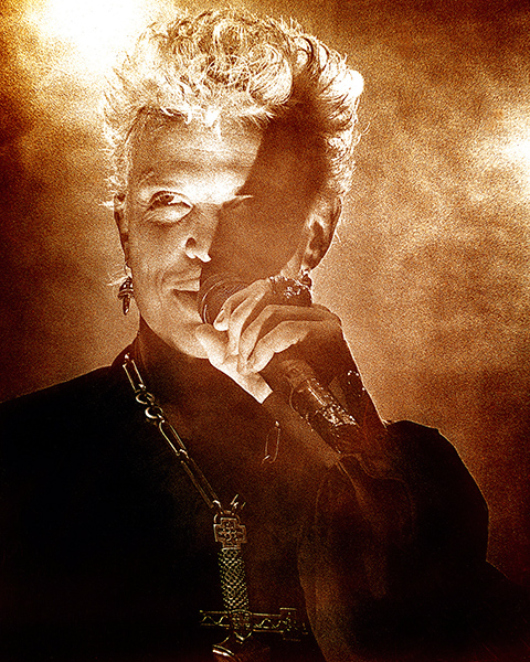 Robert M. Knight  Billy Idol  Available in 16 x 20 or 30 x 40  Email us for all inquiries: gerard@robertkiddgallery.com