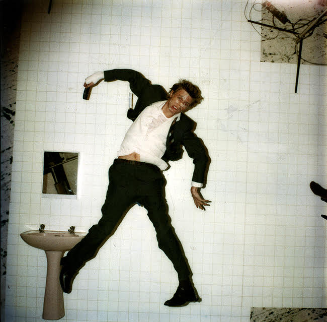 David Bowie Lodger Original Polaroid