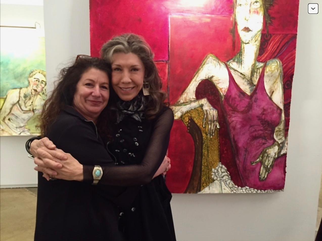 Nancy Rosen & Lily Tomlin