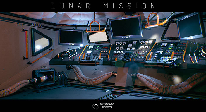 Earthlight: Lunar Mission was pitched as a project using Blender, but went on to become a spectacular depiction of astronautical missions in VR.