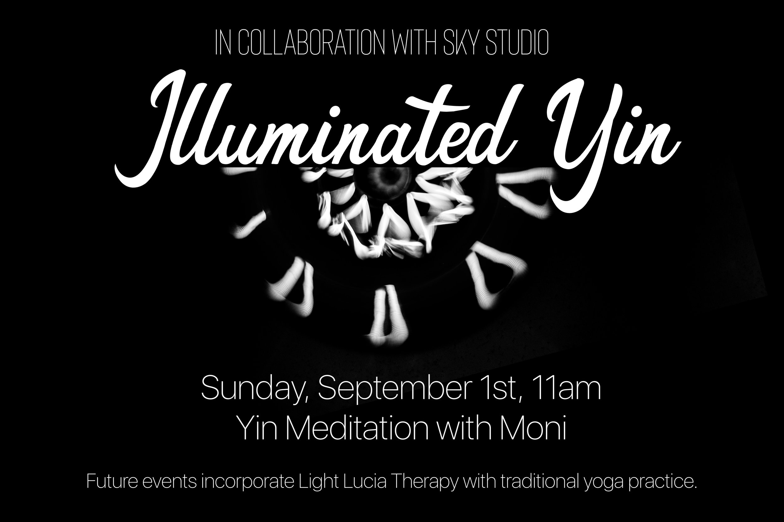 Collaboration with Sky Studio - Take this opportunity to come check out our blossoming yoga space in collaboration with sky studio & Ja pace.I will be leading a yin meditation absolutely free, confirmation required. Come RElax and bliss out.follow us on instagram to be informed of our future events including yoga with reiki healing, live music & light therapy savasana.Please email weareoneohana@gmail.com to register for this class. space is limited.