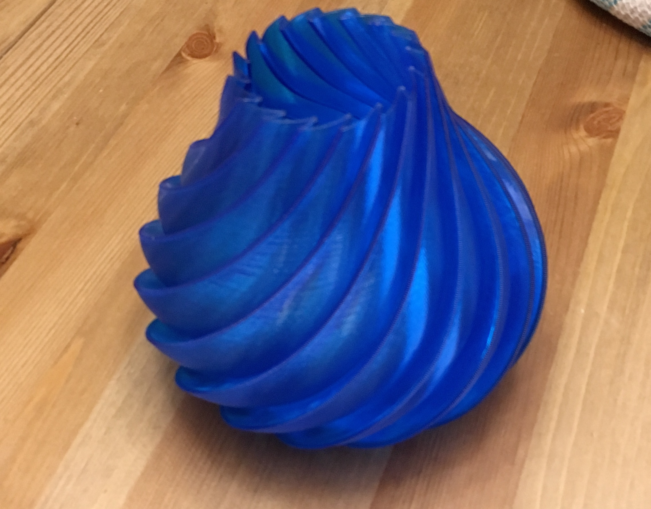 PETG: Unrivaled Layer Adhesion - PETG is great for thin walled objects such as vases. PETG layers will not separate even with very thin walls.