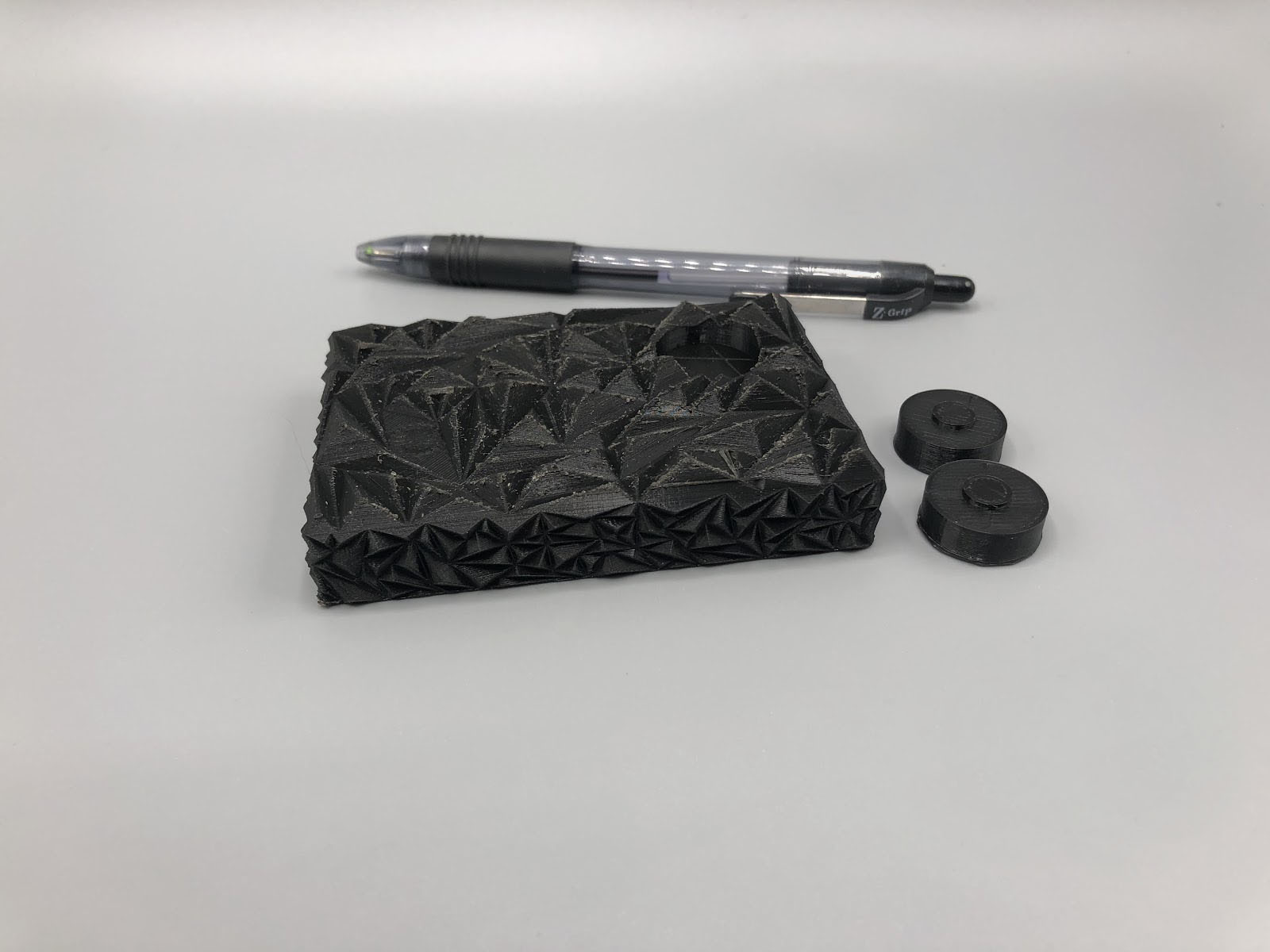 """Design prototype for Student Project - 3.5"""", PLA, 100 micron"""