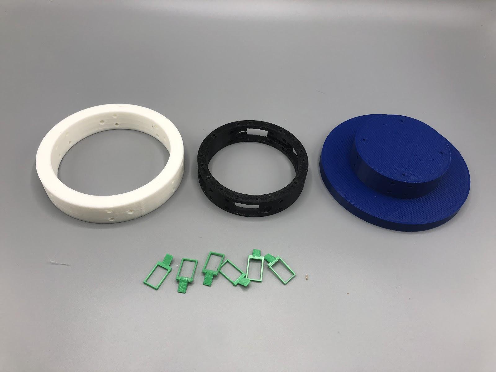 "Injection Mold Prototype - 4"", PLA, 300 micron"