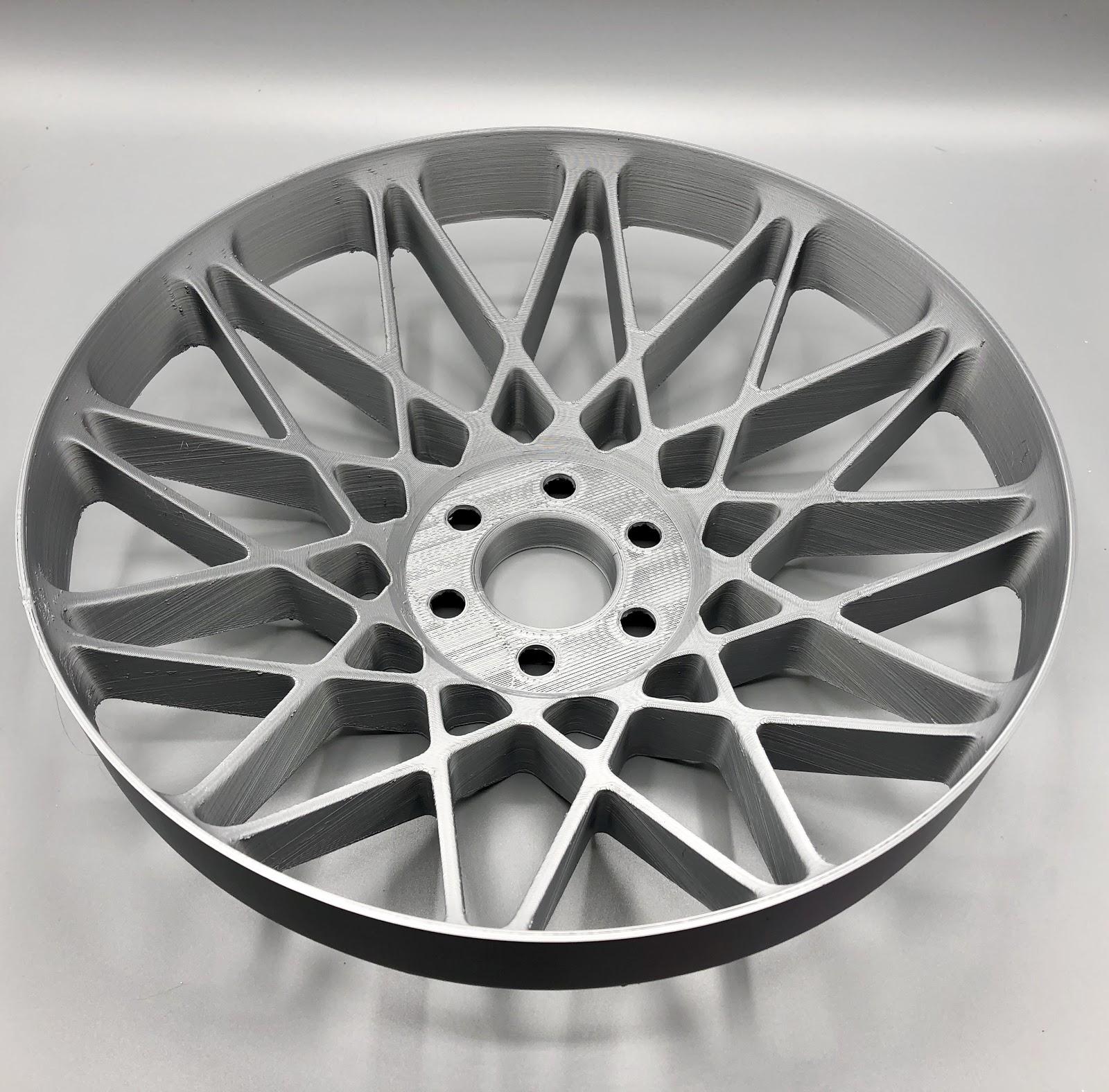 """Full-Size Wheel Prototype - 15"""", ABS, 300 micron"""