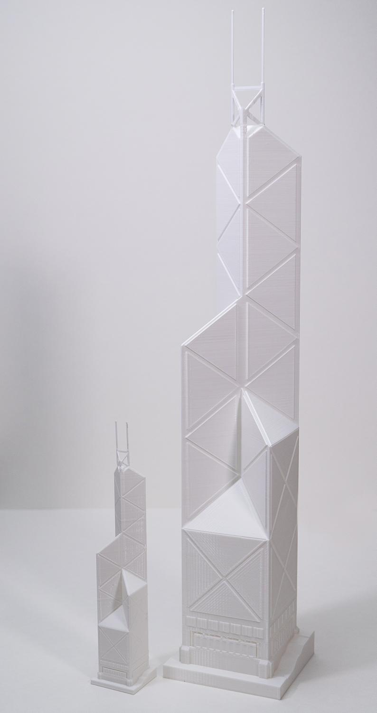 "Tower Model - 20"", PLA, 200 micron"