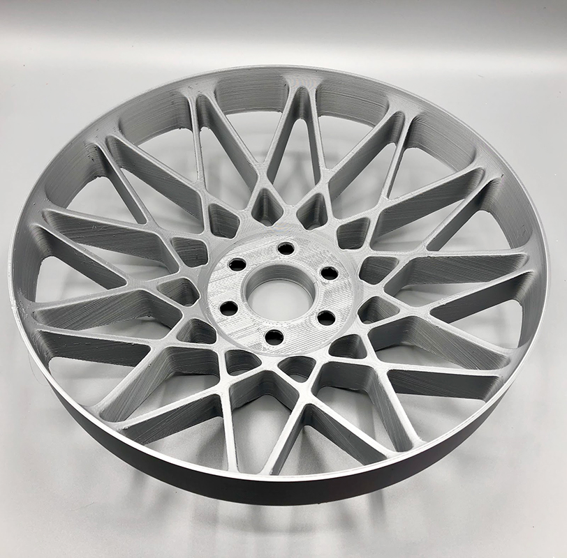 "A full-size 15"" wheel prototype."