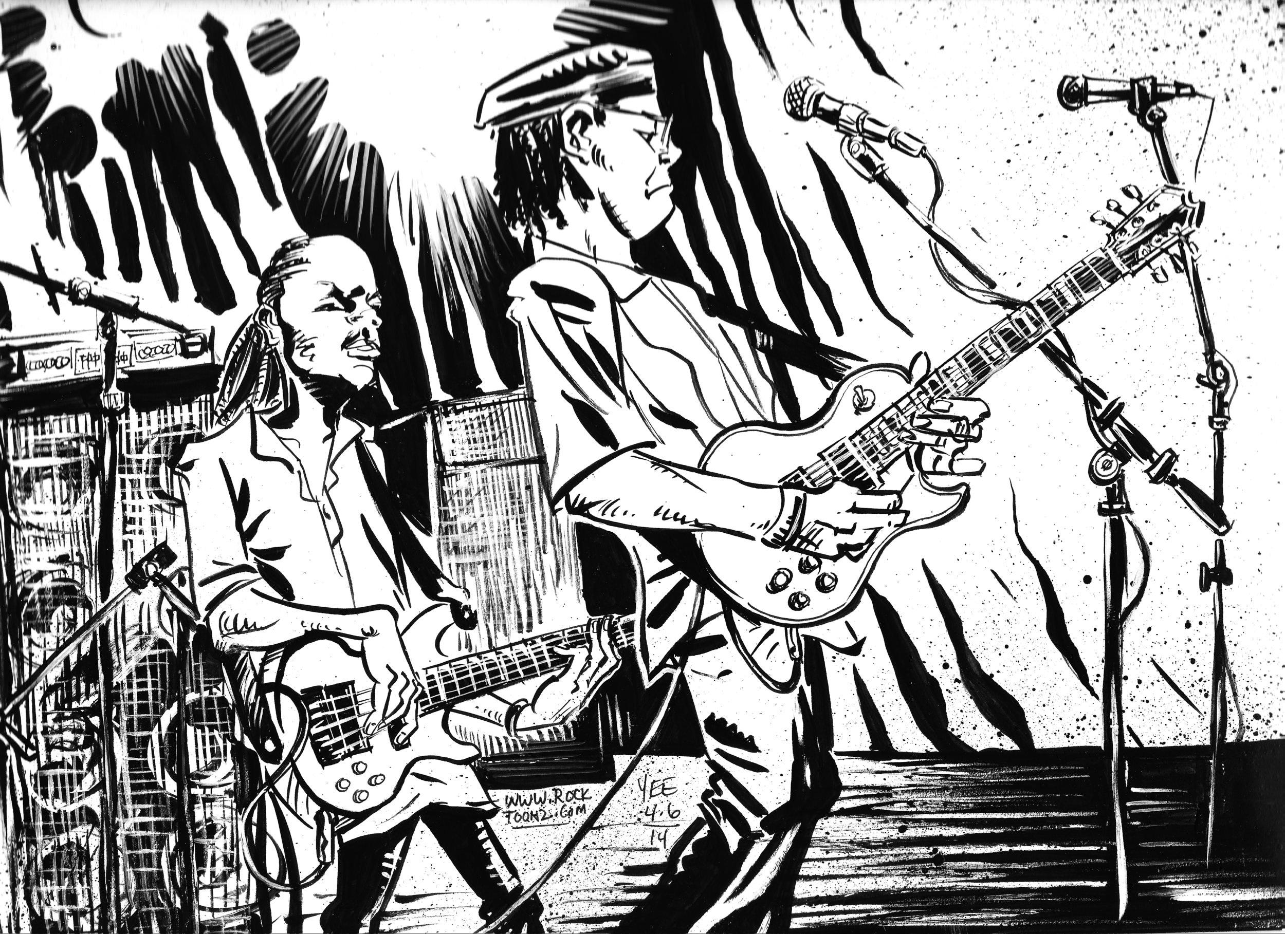 Bluesmen  (detail)