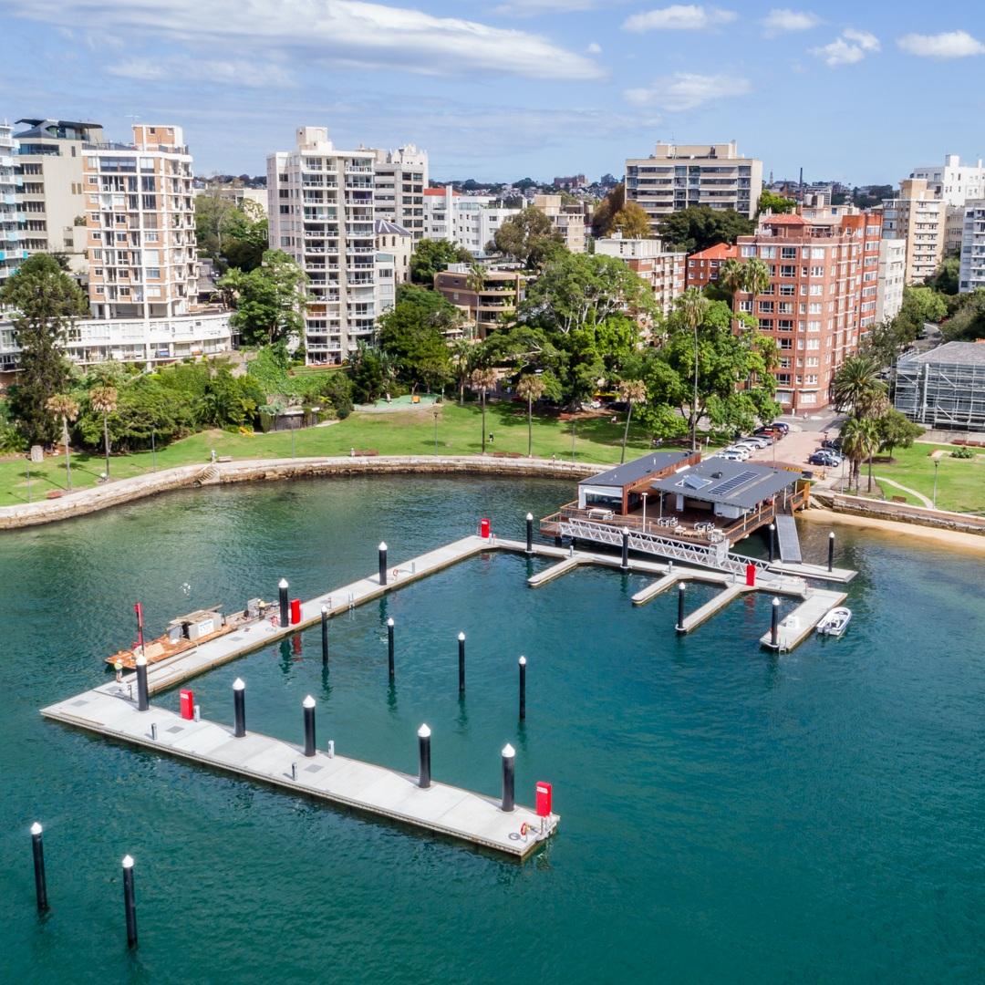 Elizabeth Bay Marina  - 2019 - NSW AIA Urban Design Commendation