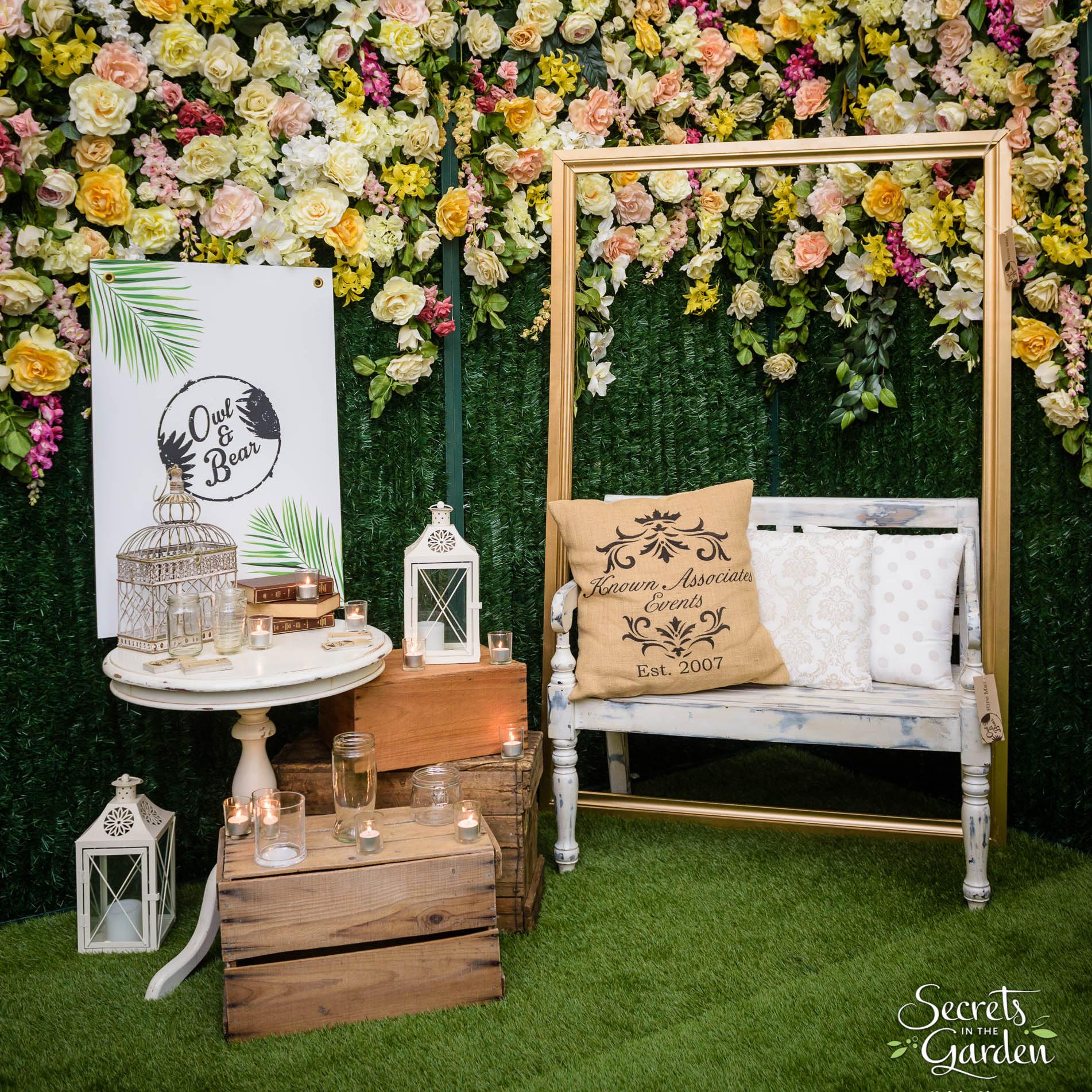 Media Launch Pop Up Event - The Secret Garden -