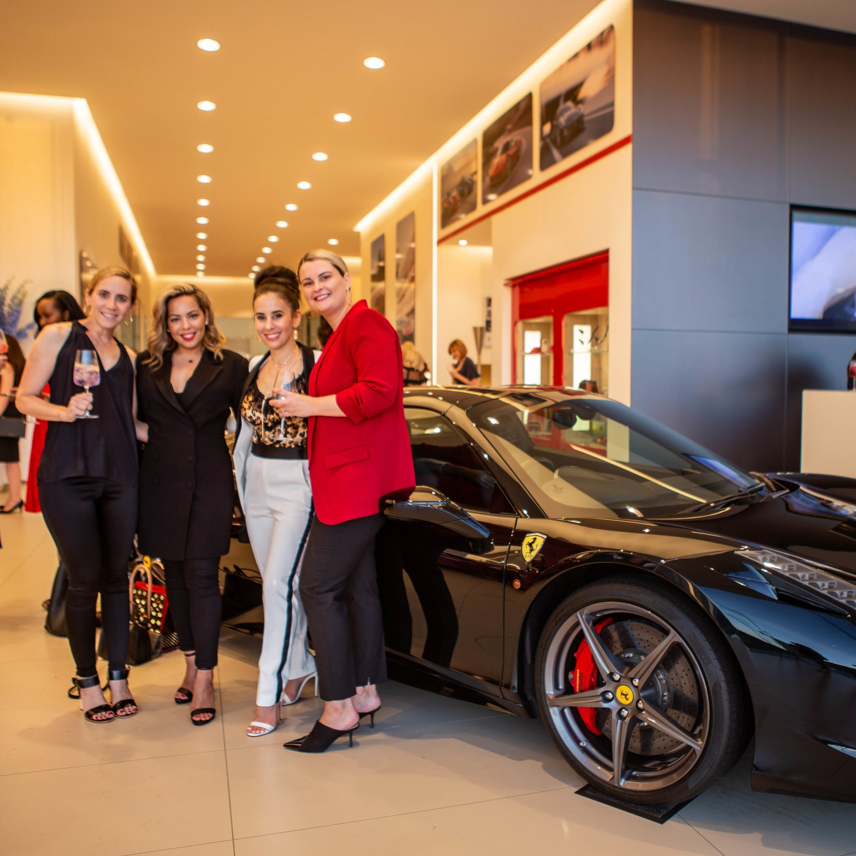 Ferrari Dinner for Driven Women - What: The Ferrari Dinner for Driven Women brought together 24 inspirational, self-made women who continue to inspire and empower others for an evening of beautiful food, genuine connection and sleek cars.Who: 24 Driven, Inspirational Women Where: Ferrari Barbagallo Showroom, PerthWhat went down: A decadent four-course dining experience to celebrate some of Perth's ultimate female leaders, in true Ferrari style.VIEW GALLERY