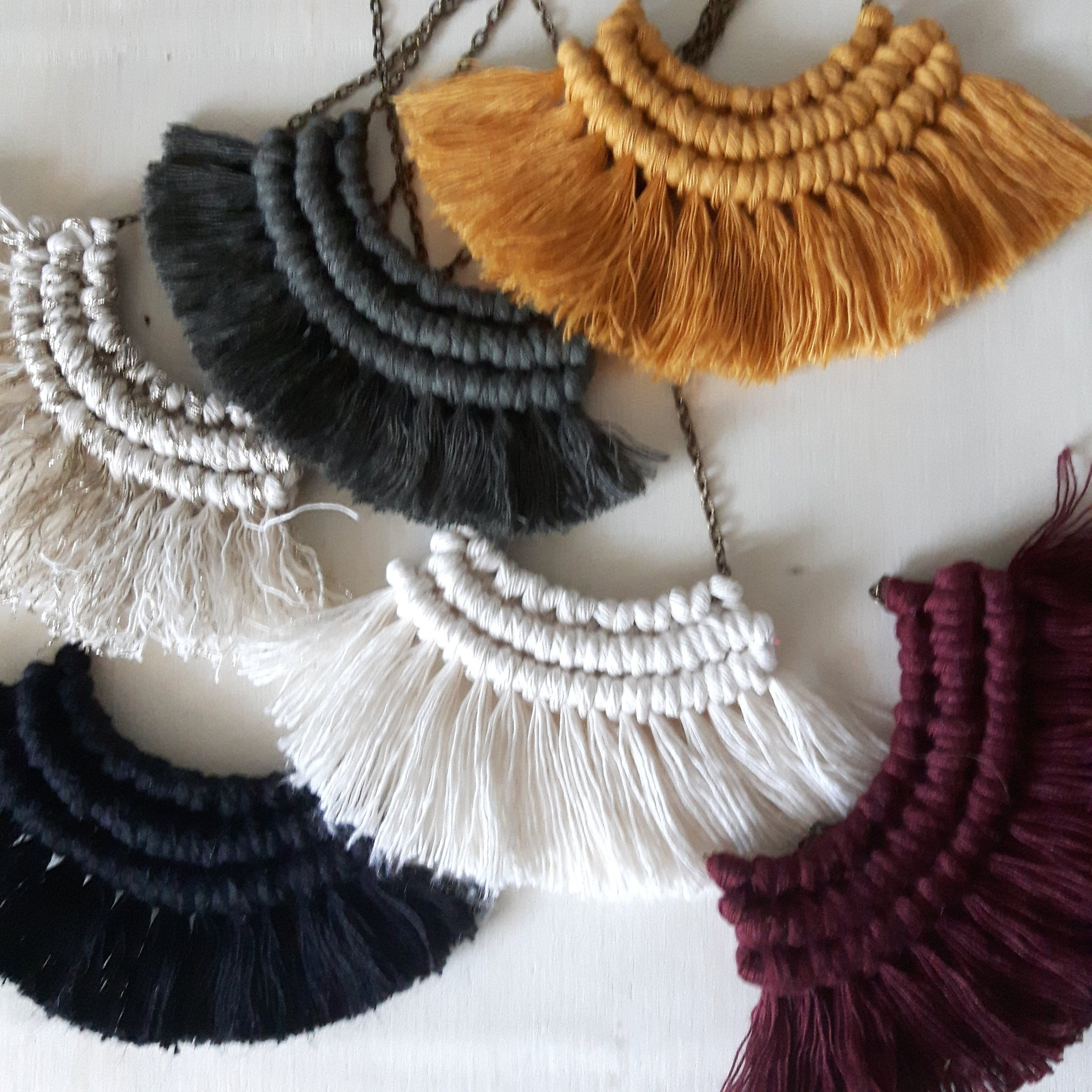MACRAME NECKLACE WORKSHOP