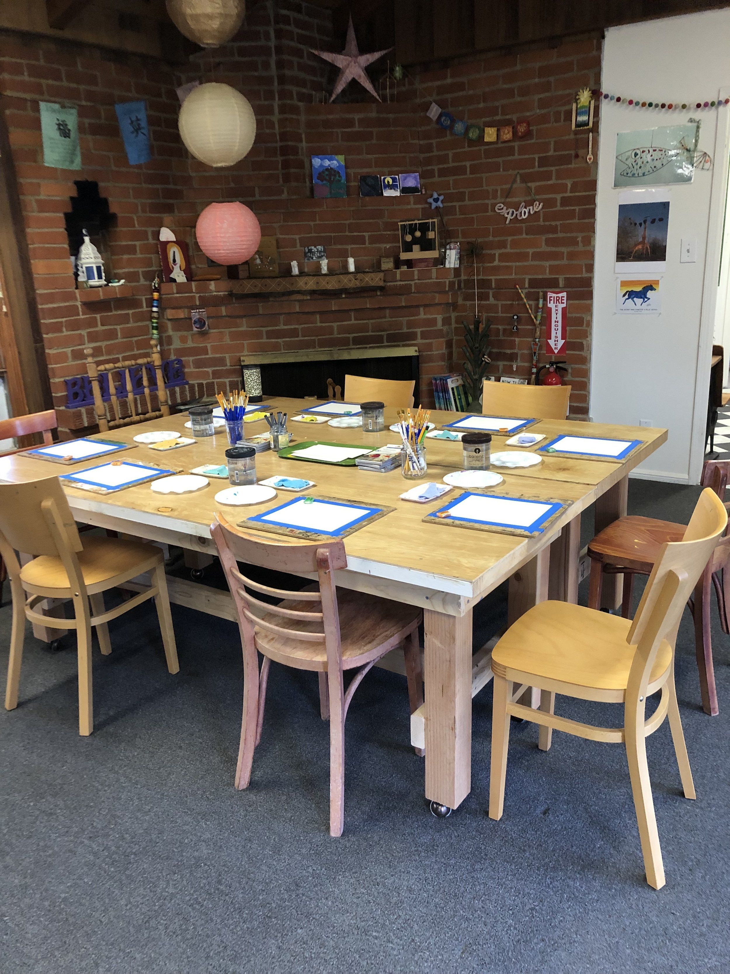 Your private party can be a minimum of 5 guest to a maximum of 15. Prices range from $25.00-$40.00 per person for an hour and a half. Depending on the size of the group as well as activities provided, please contact us to get a complete quote.