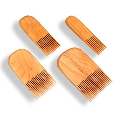 Code: EE#097 Wooden Combs 4 Piece Set $55.00
