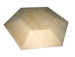 Code: EE#051 Hexagon Mould 300x300x50mm $100.00
