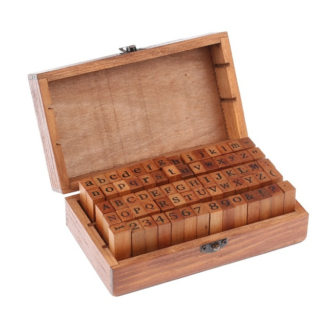 Code: EE#035 Letters Stamp 70 Piece Set $20.00
