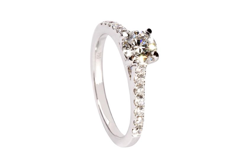 Diamond engagement ring 3.
