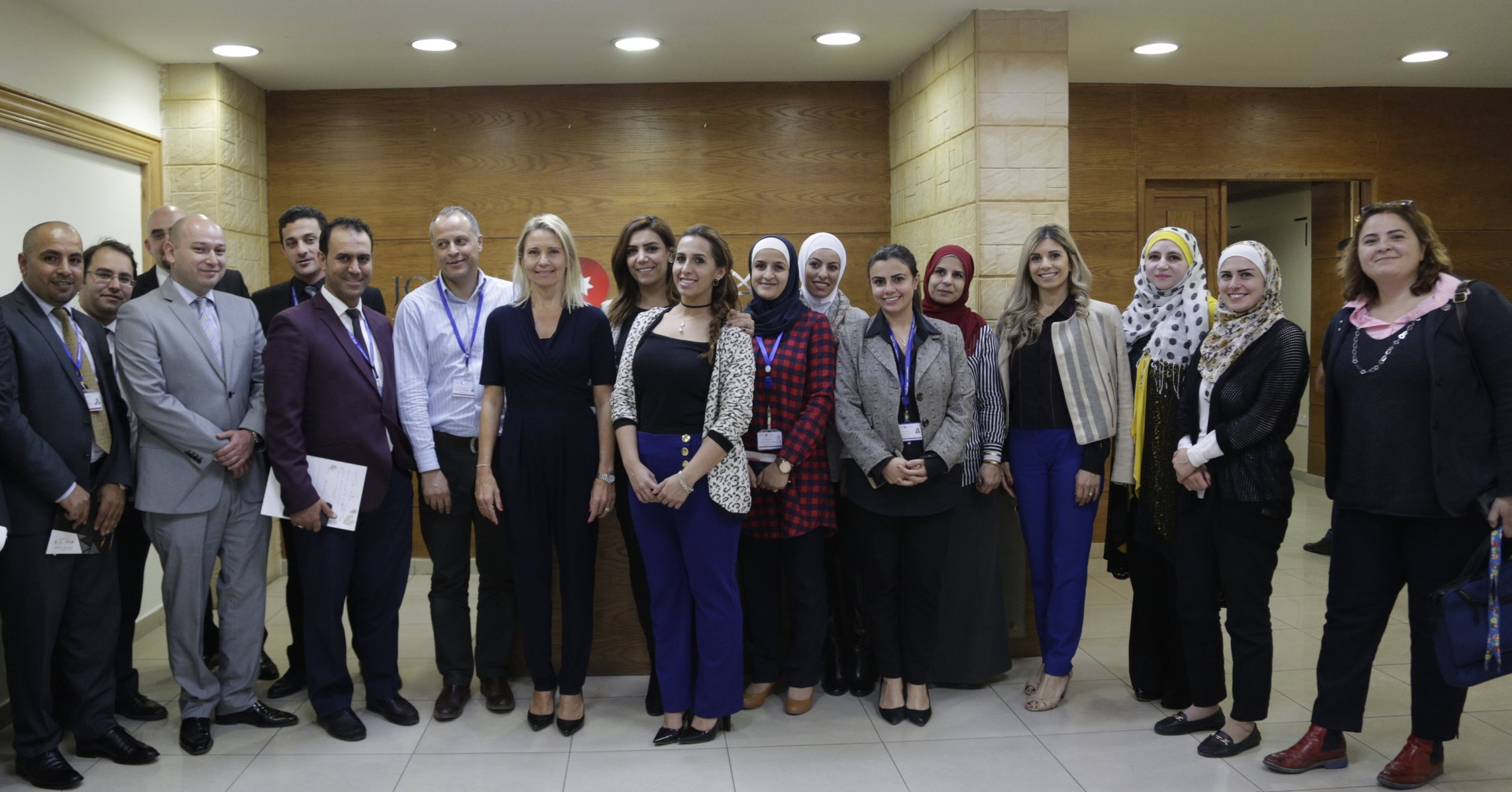 Participants in the USAID JCP supported training on investment promotion for JIC staff