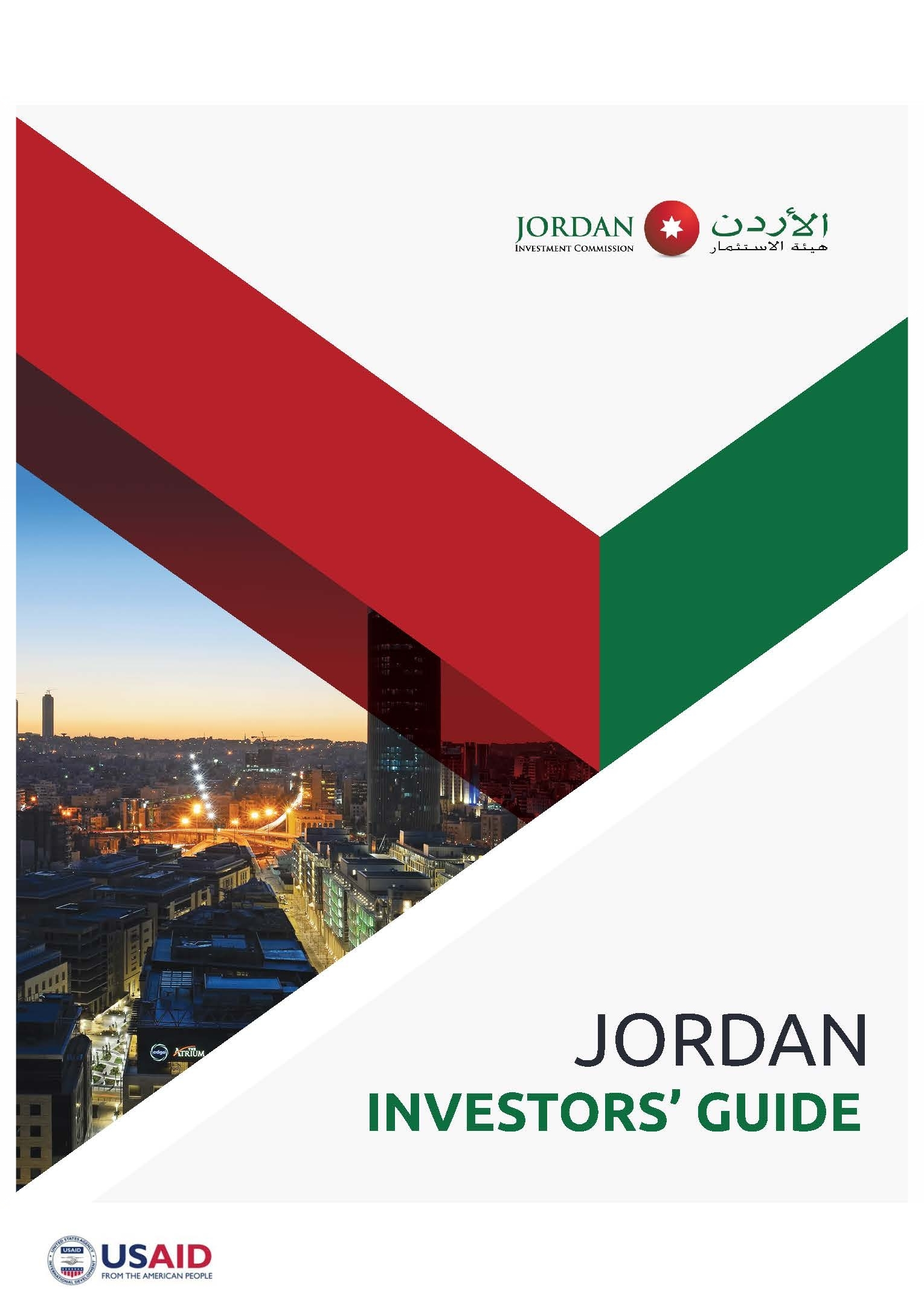 JCP has worked with the JIC to develop an Investors' Guide, a Licensing Manual, branding guidelines, and Sector Profiles designed to attract investment to the country