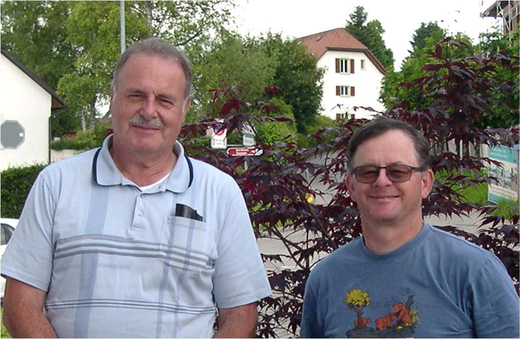Secteur orange :  Robert Haenni et Christian Graber